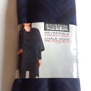 Reversible Ladies Fashion Wrap